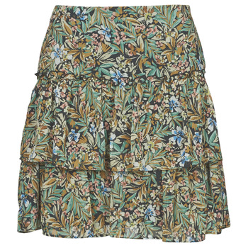 material Women Skirts Naf Naf COUNTRY J2 Multicolour