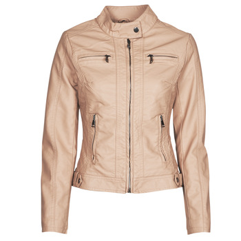 material Women Leather jackets / Imitation leather Moony Mood ORNELLA Pink