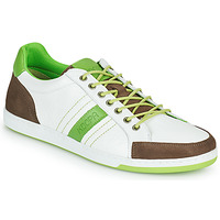 Shoes Men Low top trainers Kdopa MARIANO White / Green