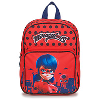 Bags Girl Rucksacks Back To School SAC A DOS MIRACULOUS 30 CM Red
