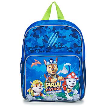 Bags Children Rucksacks Back To School SAC A DOS PAT PATROUILLE 30 CM Blue