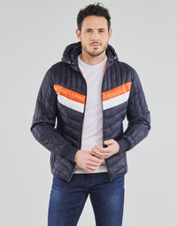 material Men Duffel coats Schott ALASKA Marine / Orange