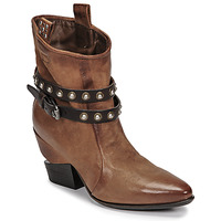 Shoes Women Mid boots Airstep / A.S.98 TINGET Brown