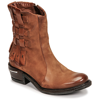 Shoes Women Mid boots Airstep / A.S.98 IGNIX Brown