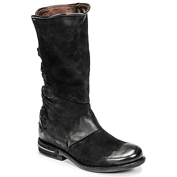 Shoes Women Mid boots Airstep / A.S.98 TEAL Black