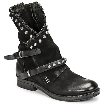 Shoes Women Mid boots Airstep / A.S.98 RECYCLED Black