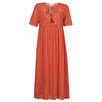 material Women Long Dresses Betty London ORVILLE Rust