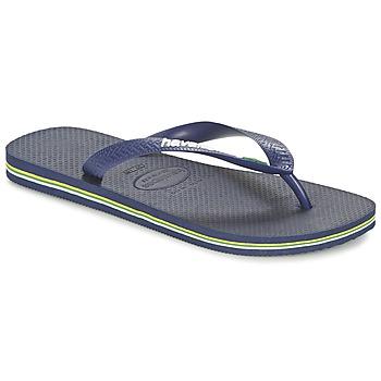 Shoes Flip flops Havaianas BRASIL LOGO Marine
