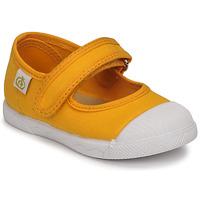 Shoes Girl Ballerinas Citrouille et Compagnie APSUT Yellow
