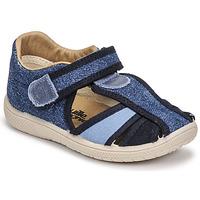 Shoes Boy Sandals Citrouille et Compagnie GUNCAL Blue / Jeans