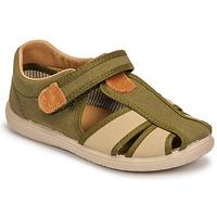 Shoes Boy Sandals Citrouille et Compagnie GUNCAL Kaki