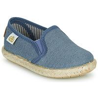 Shoes Boy Low top trainers Citrouille et Compagnie OSIOUP Blue