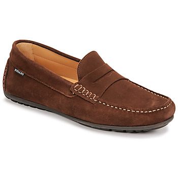 Shoes Men Loafers Christian Pellet Cador Brown