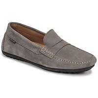 Shoes Men Loafers Christian Pellet Cador Grey