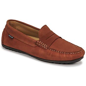 Shoes Men Loafers Christian Pellet Cador Red
