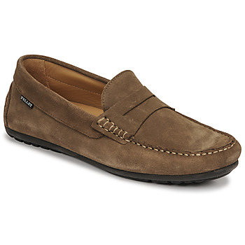 Shoes Men Loafers Christian Pellet Cador Taupe