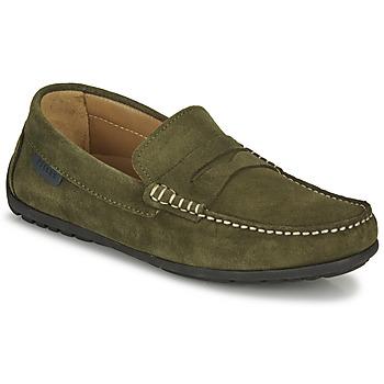Shoes Men Loafers Christian Pellet Cador Kaki