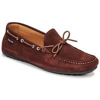 Shoes Men Loafers Christian Pellet Nere Bordeaux
