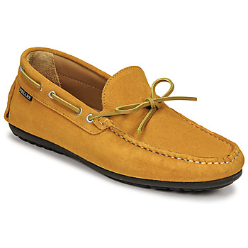 Shoes Men Loafers Pellet Nere Yellow