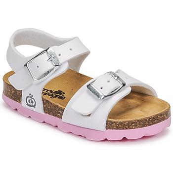 Shoes Girl Sandals Citrouille et Compagnie RELUNE White