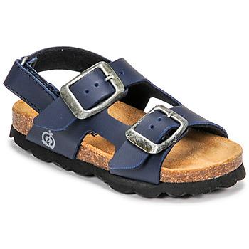 Shoes Boy Sandals Citrouille et Compagnie KELATU Marine / Dark