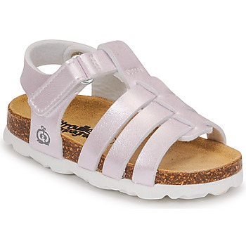 Shoes Girl Sandals Citrouille et Compagnie MALIA Champagne