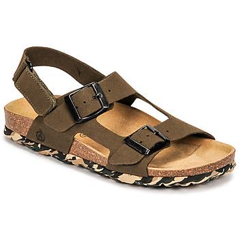 Shoes Boy Sandals Citrouille et Compagnie KELATU Kaki