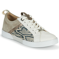 Shoes Girl Low top trainers JB Martin GELATO Grey / White