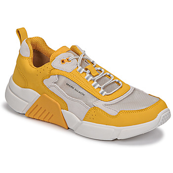 Shoes Women Low top trainers Skechers BLOCK/WEST White / Yellow