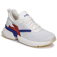 Shoes Women Low top trainers Skechers SPLIT/OVERPASS White / Blue / Red
