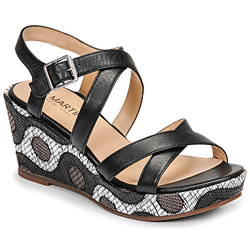 Shoes Women Sandals JB Martin DARELO E19 Black