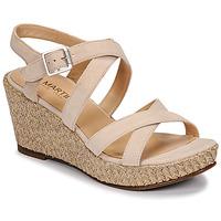 Shoes Women Sandals JB Martin DARELO E19 Sable