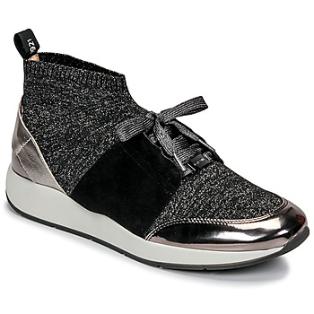 Shoes Women Low top trainers JB Martin KASSIE SOCKS Black
