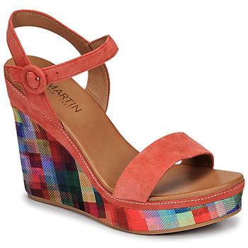 Shoes Women Sandals JB Martin LIVE E19 Multicoloured