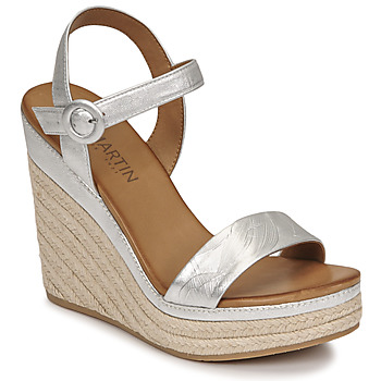 Shoes Women Sandals JB Martin LIVE E19 Silver