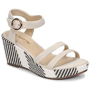 Shoes Women Sandals JB Martin DORKA E20 Grey