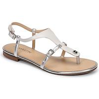 Shoes Women Sandals JB Martin GAELIA E20 White / Silver