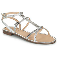 Shoes Women Sandals JB Martin GRIOTTES Silver