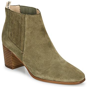 Shoes Women Ankle boots JB Martin LIZIO E20 Olive