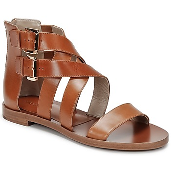 Shoes Women Sandals Michael Kors ECO LUX Brown