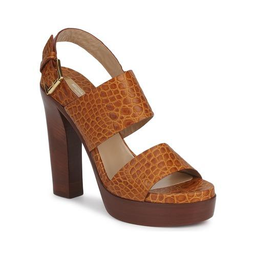 Shoes Women Sandals Michael Kors MATISSE LUX Brown