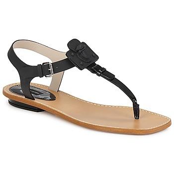 Shoes Women Sandals Marc Jacobs CHIC CALF Black