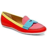 Shoes Women Loafers Marc Jacobs SAHARA SOFT CALF Multicoloured