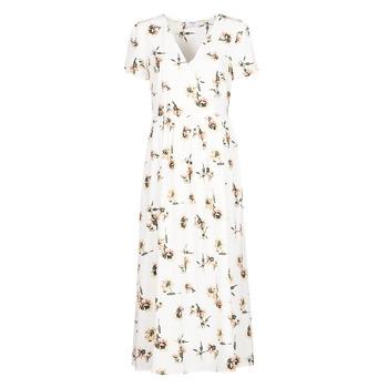 material Women Long Dresses Betty London OFRI White