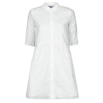 material Women Short Dresses Betty London ODA White