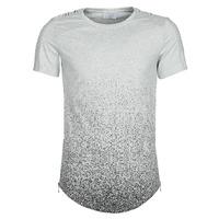 material Men short-sleeved t-shirts Yurban OLORD Grey / Black