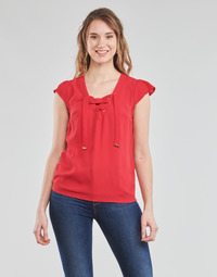 material Women Blouses Moony Mood OPAK Red