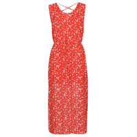 material Women Long Dresses Moony Mood OUPLA Red