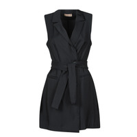 material Women Short Dresses Moony Mood OLALA Black