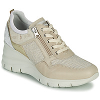 Shoes Women Low top trainers NeroGiardini FLORA Beige / Gold